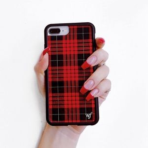 Wildflower Case - Red Plaid